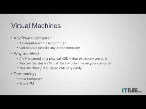 What is a Virtual Machine?