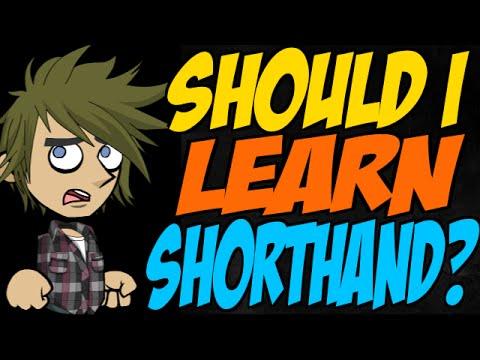 Should I Learn Shorthand?
