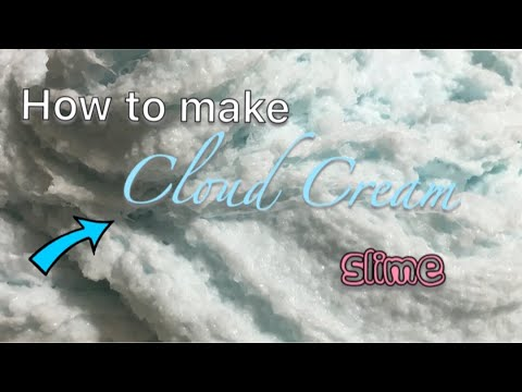 How to make Cloud Cream Slime! Very simple+ easy to follow