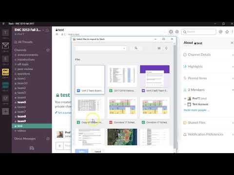 Using Google Docs and Slack Together