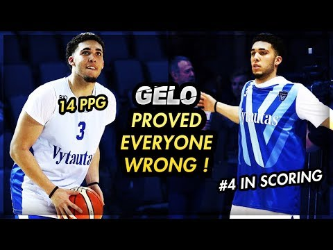 How LIANGELO BALL Is Proving EVERYBODY WRONG In Lithuania!