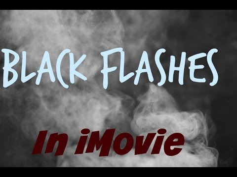 How To Add Black / Trap Flashes In iMovie For iPhone And iPad