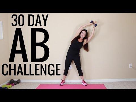 Ab Challenge  - Christina Carlyle
