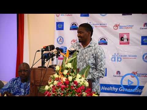 CS Mwangi Kiunjuri asks counties to provide free milk to School Children