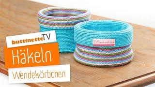 Häkelidee Körbchen Aus Paketschnur Playithub Largest Videos Hub
