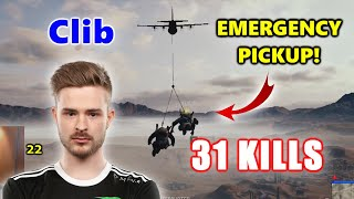 Team Liquid Clib & Alisa - 31 KILLS - EMERGENCY PICKUP! - Beryl M762 + Mini14 - DUO - PUBG