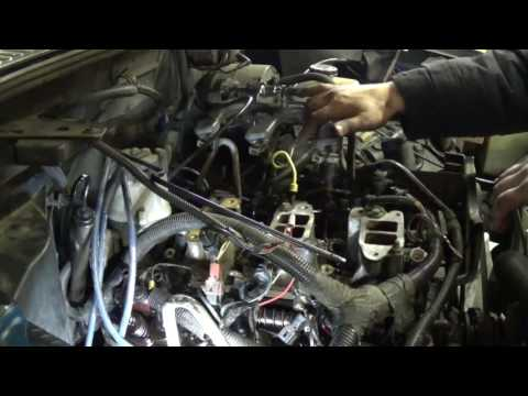 1988 Ford Ranger Intake Manifold Removal