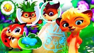 Лео и Тиг: Таёжная Сказка #5  Мартик и Мила на празднике племени Леммингов! Приключения на болоте