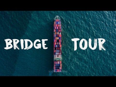 Navigation Bridge of a Mega Ship - A Closer Look at the Command Center