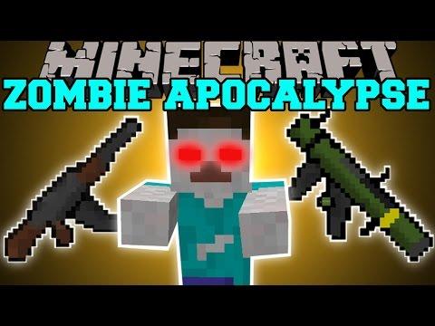 Minecraft: ZOMBIE APOCALYPSE MOD (CITIES, GUNS, INVASIONS, STRUCTURES, & MORE!) Mod Showcase