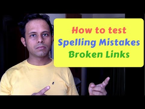 QnA Friday 5 - How to find spelling mistakes | broken links on websites