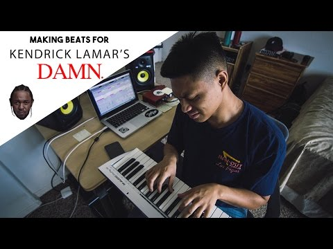 Making Beats For: Kendrick Lamar's Album, DAMN | (Using Ableton Live)