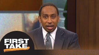 Stephen A. Smith on LeBron James: He is in a 'no-win' situation with free agency | First Take | ESPN