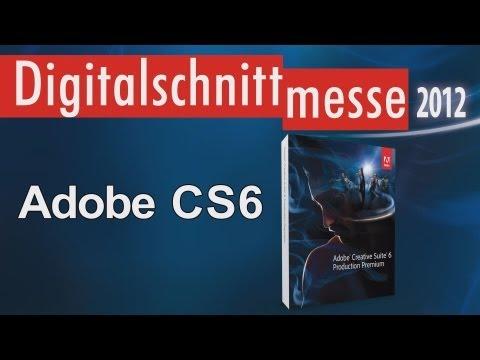 Adobe Creative Suite 6 / Adobe CS6 (Digitalschnittmesse 2012)