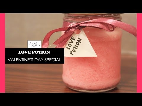 Love Potion | How To Make A Love Potion Drink | Valentine's Day Special | Simply Jain