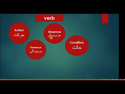 what is verb with examples in Persian?