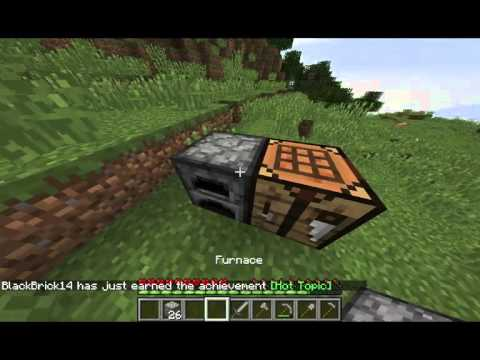 How to make a set of iron tools in minecraft