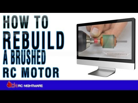 How To Rebuild A Brushed RC Motor