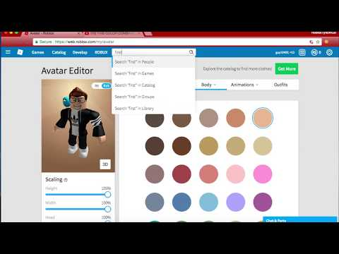 How To Be Naked On Roblox! [2017-2018]