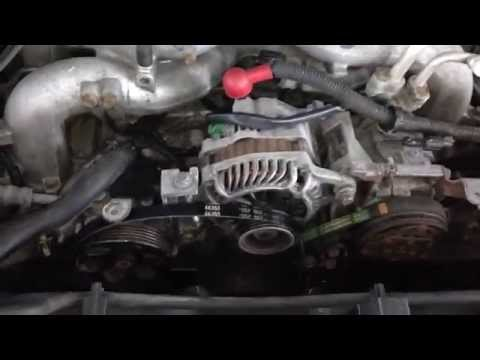How To: Subaru Forester Belt Removal/ Installation