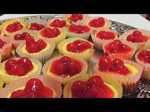 Betty's Cherry Cheesecake Cupcakes