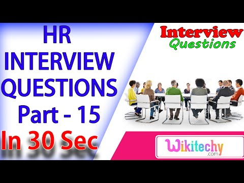 Potential Qualities Hiring for this position -15 hr interview questions and answers for freshers