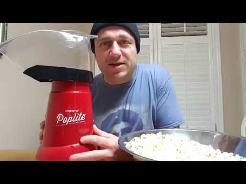 The Best Air Popped Popcorn Maker - Review