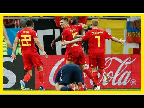 World Cup 2018: Belgium storms back from two-goal deficit to beat Japan and Twitter reacts to the m
