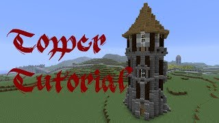 Minecraft Tutorial Medieval Outpost Tower