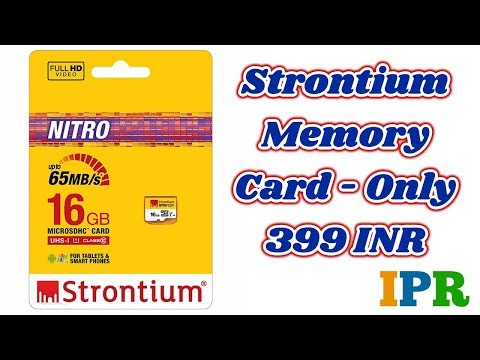 Strontium Memory Card 16 GB @399 INR | Indian Product Reviewer