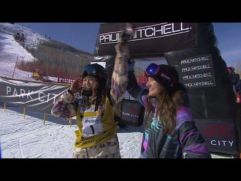 Chloe Kim's Historic Perfect Score - U.S. Snowboarding Grand Prix 2016