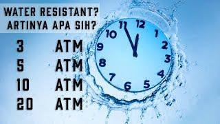 Apa Arti ATM/BAR Pada Jam Tangan? Penjelasan Water Resistant Pada Jam Tangan
