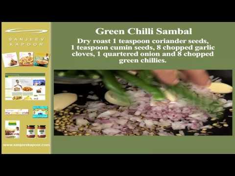 Green Chilli Sambal
