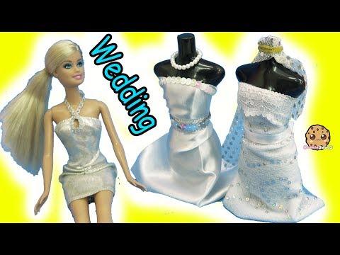 Barbie Doll Wedding Dress Designer Maker Playset + Bridal Runway Fashion Show