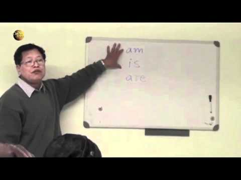 English lesson 1 for ex-refugees from Burma
