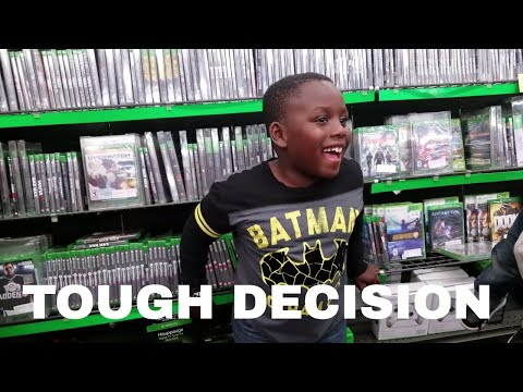 Kid J Funk makes TOUGH DECISION between Minecraft Xbox One COD WW2 Parrot Drone and Gaming Chair