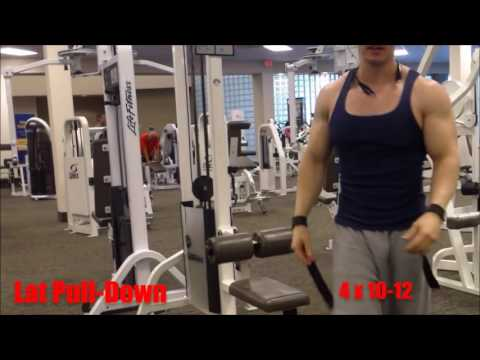 How to Get Bigger Biceps &  A Wider Back Workout