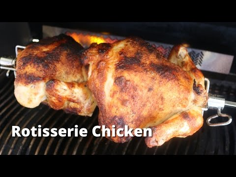 Rotisserie Chicken on the Napoleon Gas Grill | Rotisserie Chicken Recipe with Malcom Reed