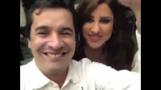 أمير الطرب محمد خير بسهرة خاصة بمنزل شمس الأغنية نجوى كرم مع أروع الفنانين