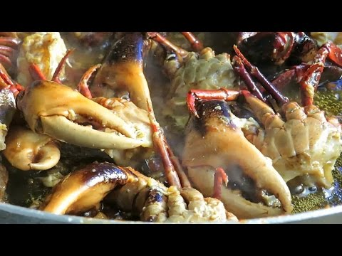 Stir Fry Crabs Yummy Recipe - How To Cook Khmer Food