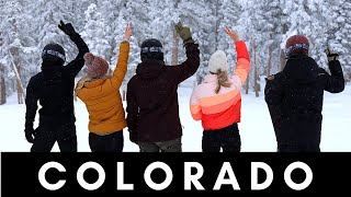 We were not prepared for this... Ski trip in Colorado!