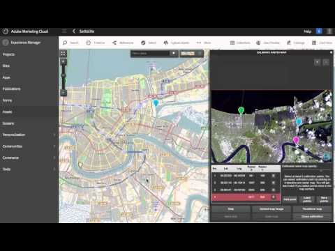 GeoSpatial AEM Aerial Maps Processing