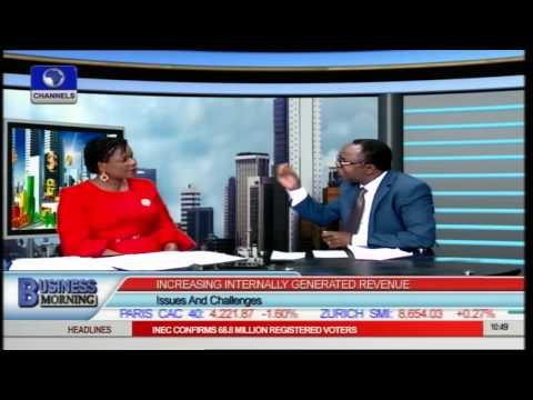 Business Morning: Increasing Nigeria's Internally Generated Revenue Pt.3