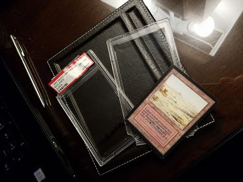 CRACKING out a $2000 Alpha Magic Dual Land out of a PSA case + $40,000 MTG Card Collection!!!