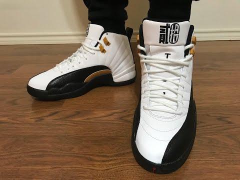 Jordan Retro 12 CNY on feet review!
