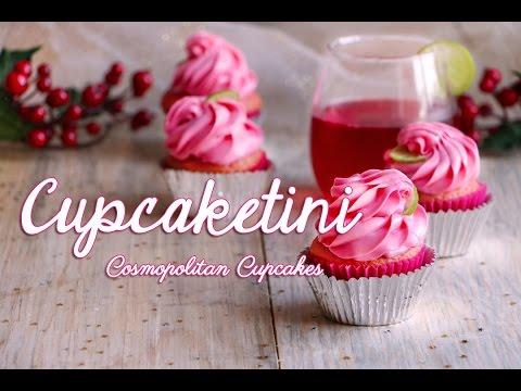 Cupcaketini - Cosmopolitan Cupcakes ♥ Chokolat Pimienta
