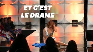 À Miss Univers, Maëva Coucke chute mais ne se laisse pas déstabiliser