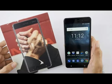 Nokia 6 Android Phone Unboxing & Overview (Retail Indian Unit)