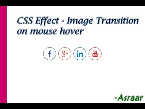 CSS Effect  Image transition on mouse hover