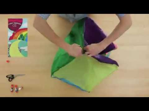 Hot Air Balloon  All you need is tissue paper, glue and some tape  Challenge yourself by adding a ba